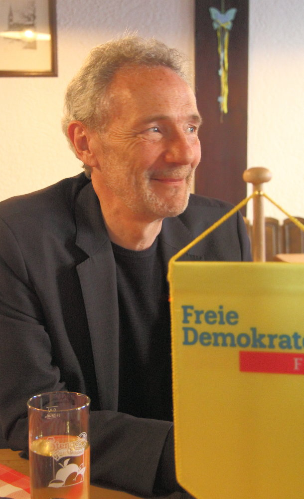 FDP Ortsvorsitzender Peter Kolb